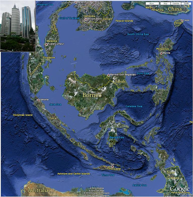 Peninsular Malaysia: Peninsular Malaysia And Sabah, Borneo